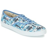 Victoria  INGLES PALMERAS  women's Shoes (Trainers) in Blue