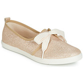 Yurban  IBLOCER  women's Shoes (Trainers) in Gold