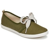 Yurban  SOURITE  women's Shoes (Trainers) in Green