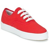 Yurban  PLUO  women's Shoes (Trainers) in Red