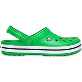 Crocs  Crocband Clogs Shoes Sandals in Grass Green   White 11016 3E3  men's Clogs (Shoes) in Green