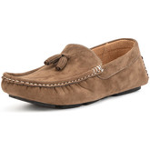 Reservoir Shoes  Moccasin with pompoms WALTER Beige Man Perm  women's Loafers / Casual Shoes in Beige