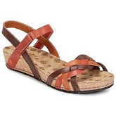 Art  POMPEI 735  women's Sandals in Brown