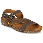 Art  I BREATHE  women's Sandals in Brown