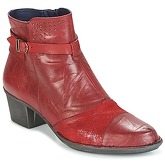 Dorking  DULCE  women's Low Ankle Boots in red
