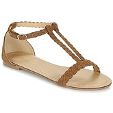Moony Mood  GEMINIELLE  women's Sandals in Brown