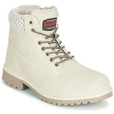 Kangaroos  RIVETER W III  women's Mid Boots in White