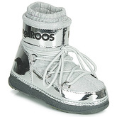Kangaroos  K-MOON  women's Snow boots in Silver