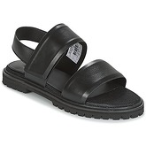G-Star Raw  CORE STRAP FLAT  women's Sandals in Black