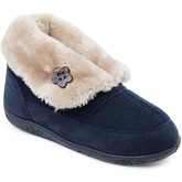 Padders  Eden Womens Full Slippers  women's Snow boots in Blue
