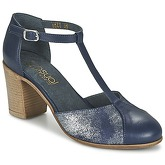 Casual Attitude  BELINO  women's Court Shoes in Blue