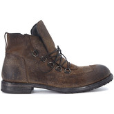 Moma  brown vintage leather ankle boots  men's Mid Boots in Grey