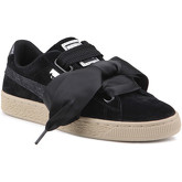 Puma  Lifestyle shoes   Suede Heart Safari Wns 364083 03  women's Shoes (Trainers) in Black