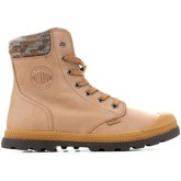 Palladium  Pampa Knit LP F 95172-720-M  women's Mid Boots in Yellow