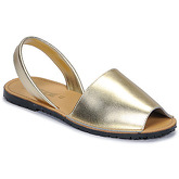 So Size  LOJA  women's Sandals in Gold