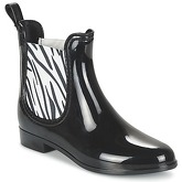 Be Only  BEATLE  women's Wellington Boots in Black