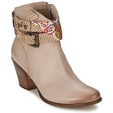 Manas  -  women's Low Ankle Boots in Brown
