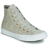 Converse  CHUCK TAYLOR ALL STAR SUMMER PALMS HI  women's Shoes (High-top Trainers) in Green