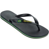 Ipanema  Brazil II Flag Sandals in Black 80408A  women's Flip flops / Sandals (Shoes) in Black