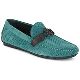Roberto Cavalli  2012A  men's Loafers / Casual Shoes in Green