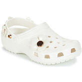 Crocs  CLASSIC METALLIC BLOOMS CLOG  women's Clogs (Shoes) in White