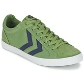 Hummel  DEUCE COURT SUMMER  women's Shoes (Trainers) in Green