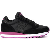 Saucony  Jazz black and pink suede and fabric sneaker  women's Shoes (Trainers) in Other