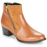 So Size  JOCASSU  women's Low Ankle Boots in Brown