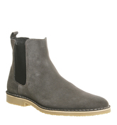 Ask the Missus Danish Chelsea Boot GREY SUEDE