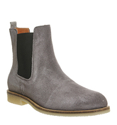 Ask the Missus English Chelsea Boot GREY SUEDE