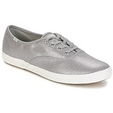Keds  CH METALLIC CANVAS  women's Shoes (Trainers) in Silver