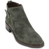 Alpe  3038 Women's Ankle Boots  women's Low Ankle Boots in Green