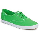 Keds  CHAMPION CVO CANVAS  women's Shoes (Trainers) in Green
