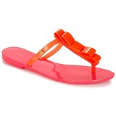 Melissa  T BAR SP AD  women's Flip flops / Sandals (Shoes) in Orange