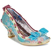 Irregular Choice  BISH BASH BOW  women's Court Shoes in Blue