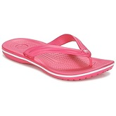 Crocs  CROCBAND FLIP  women's Flip flops / Sandals (Shoes) in Pink