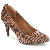 Moony Mood  LENI  women's Court Shoes in Beige