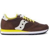Saucony  Sneaker Jazz in brown suede and nylon  women's Shoes (Trainers) in Brown