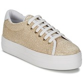 No Name  PLATO SNEAKER  women's Shoes (Trainers) in Gold