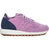 Saucony  Jazz blue and lilac suede and nylon sneaker  women's Shoes (Trainers) in Purple