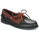 Sebago  SPINNAKER  men's Boat Shoes in Black