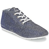 Eleven Paris  BASGLITTER  women's Shoes (Trainers) in Silver