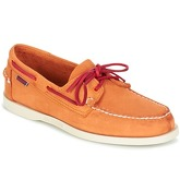 Sebago  DOCKSIDES  men's Boat Shoes in Orange